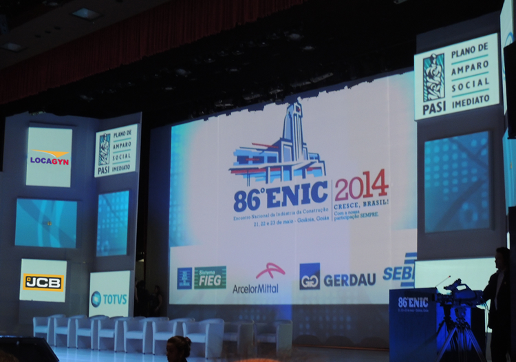 Locagyn Máquinas e Equipamentos participa da 86ª Enic 2014 e apresenta novos produtos